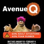 Avenue Q Poster - Lower Ossington Theatre